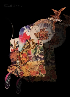 """Farewell Darling"" Collage by Taylour Rudzinski"