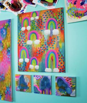 Abstract Art Emily Hess